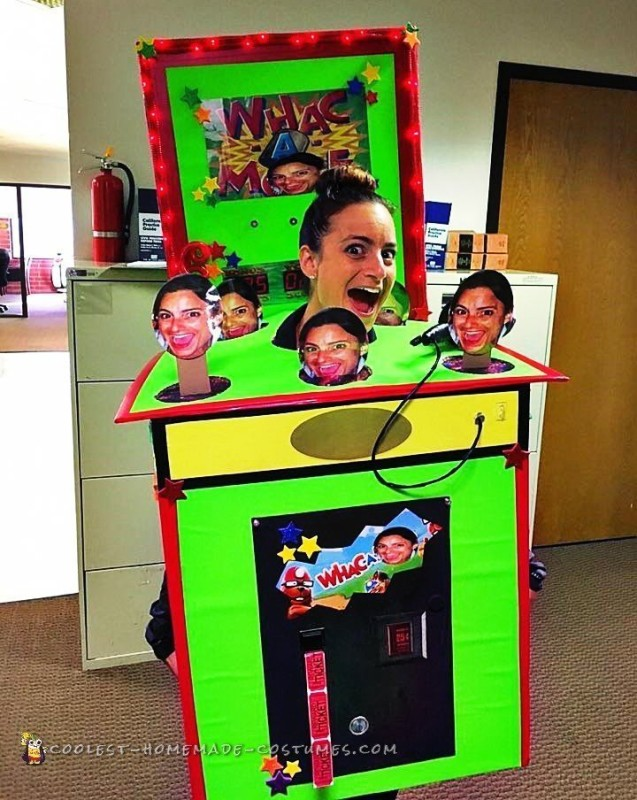Whac-a-Me Arcade Game Costume - 2