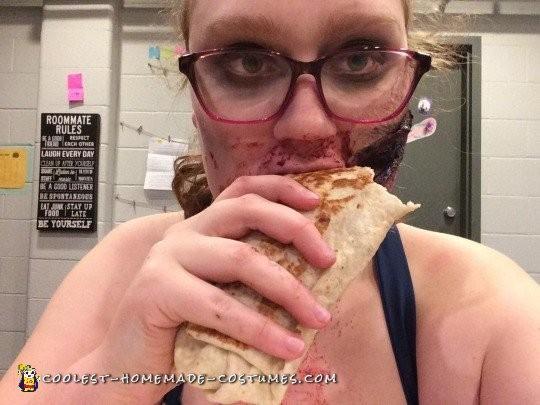 End of the night burrito