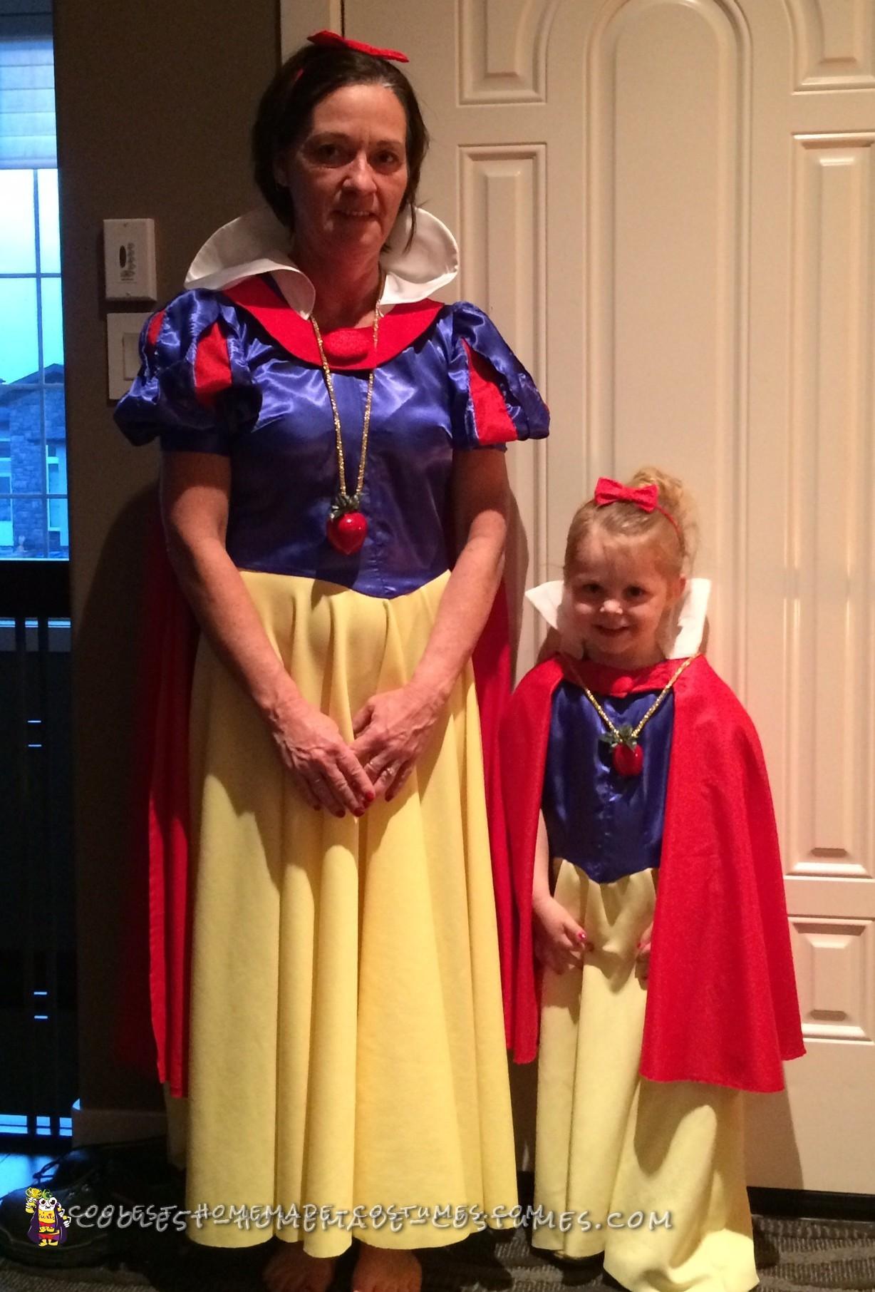 Grandma and Granddaughter Snow White Costumes