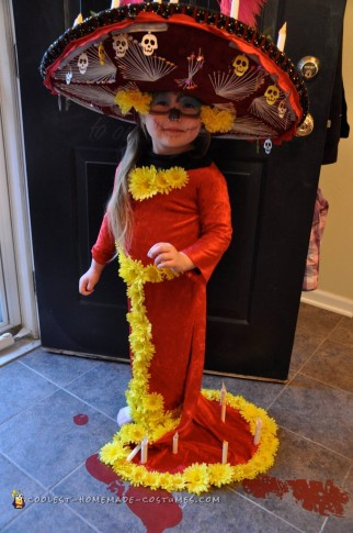 Beautiful La Muerte Book of Life Costume