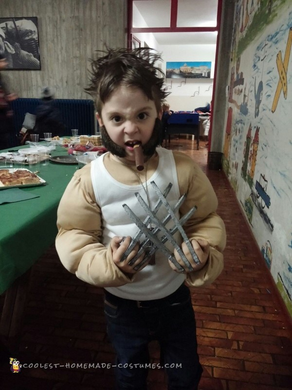Cool Toddler Wolverine Costume - 1