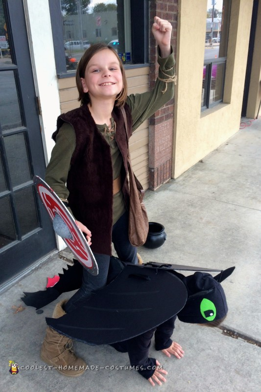 How to Train Your Dragon Group Costume - 2