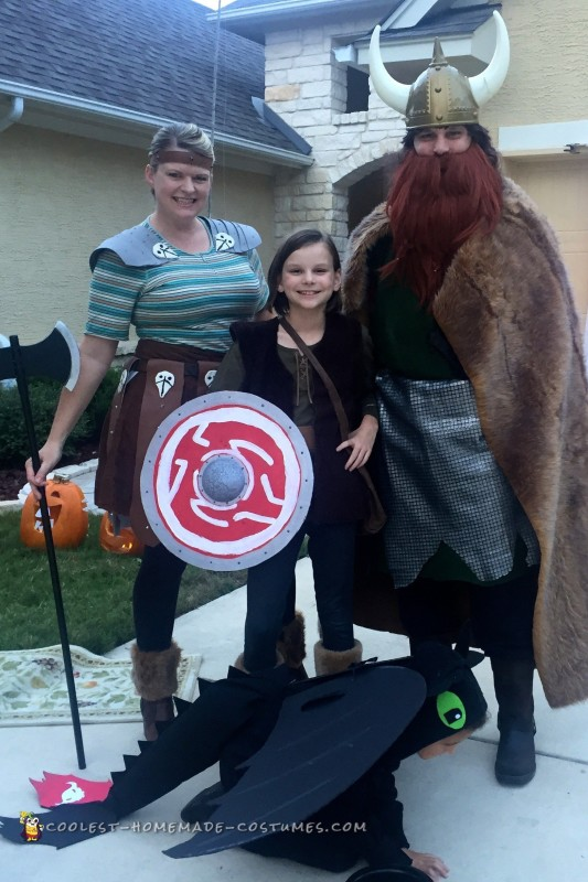 How to Train Your Dragon Group Costume - 1