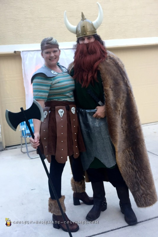 How to Train Your Dragon Group Costume - 6