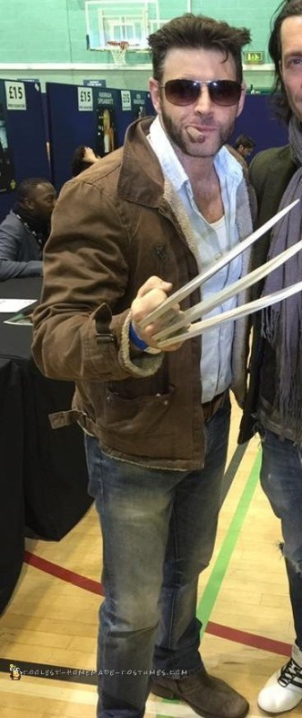 Cool Homemade Wolverine Costume - 1