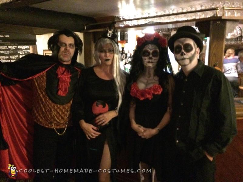 Dias de los Muertos Couple Costume - 2
