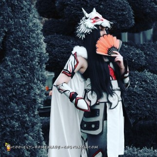 Awesome Comic-Con Okami Costume