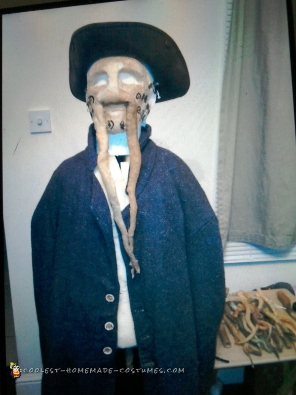 Davey Jones Dead Man's Chest Costume