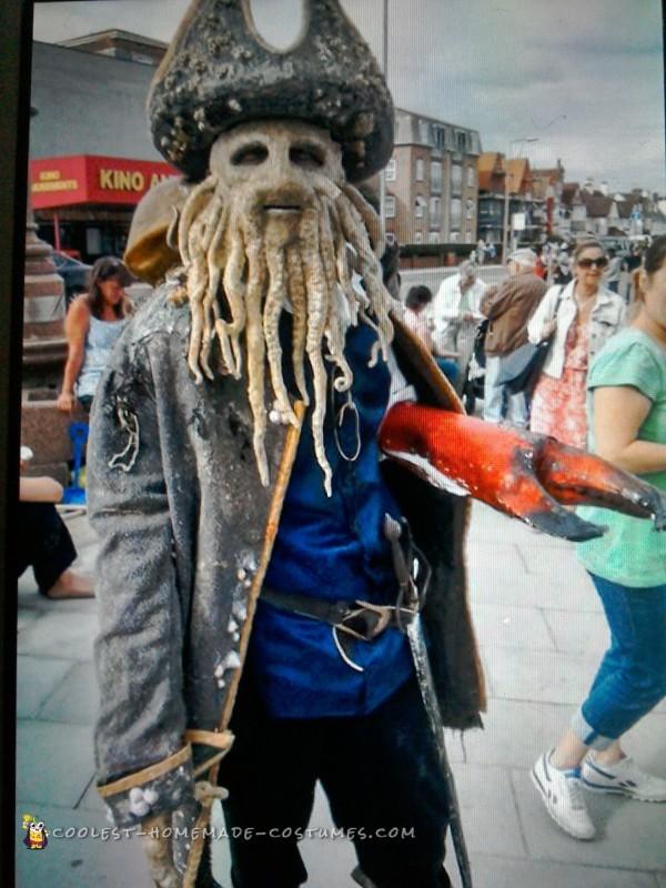 Davey Jones Dead Man's Chest Costume
