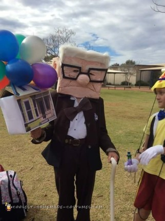 Best Homemade Carl Fredricksen Costume