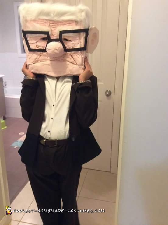 Best Homemade Carl Fredricksen Costume - 2