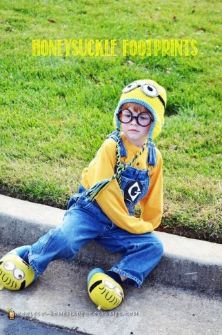 Adorable Homemade Minion Costume