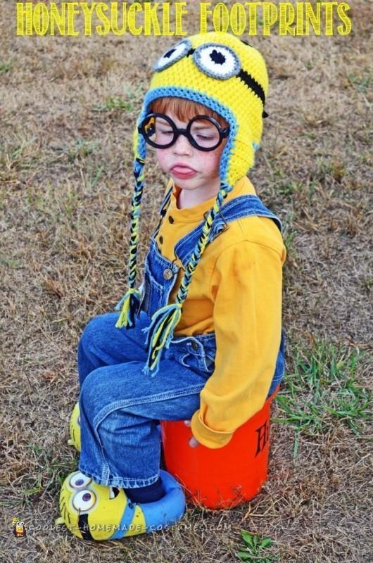 Adorable Homemade Minion Costume