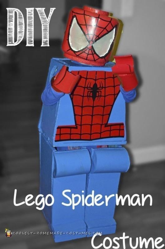 DIY Lego Spiderman Costume