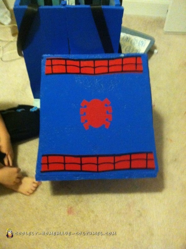 Coolest Homemade Lego Spiderman Costume