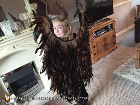 Cool and Easy Maleficent Homemade Costume