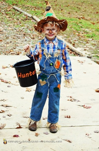 Cute Scarecrow Halloween Costume