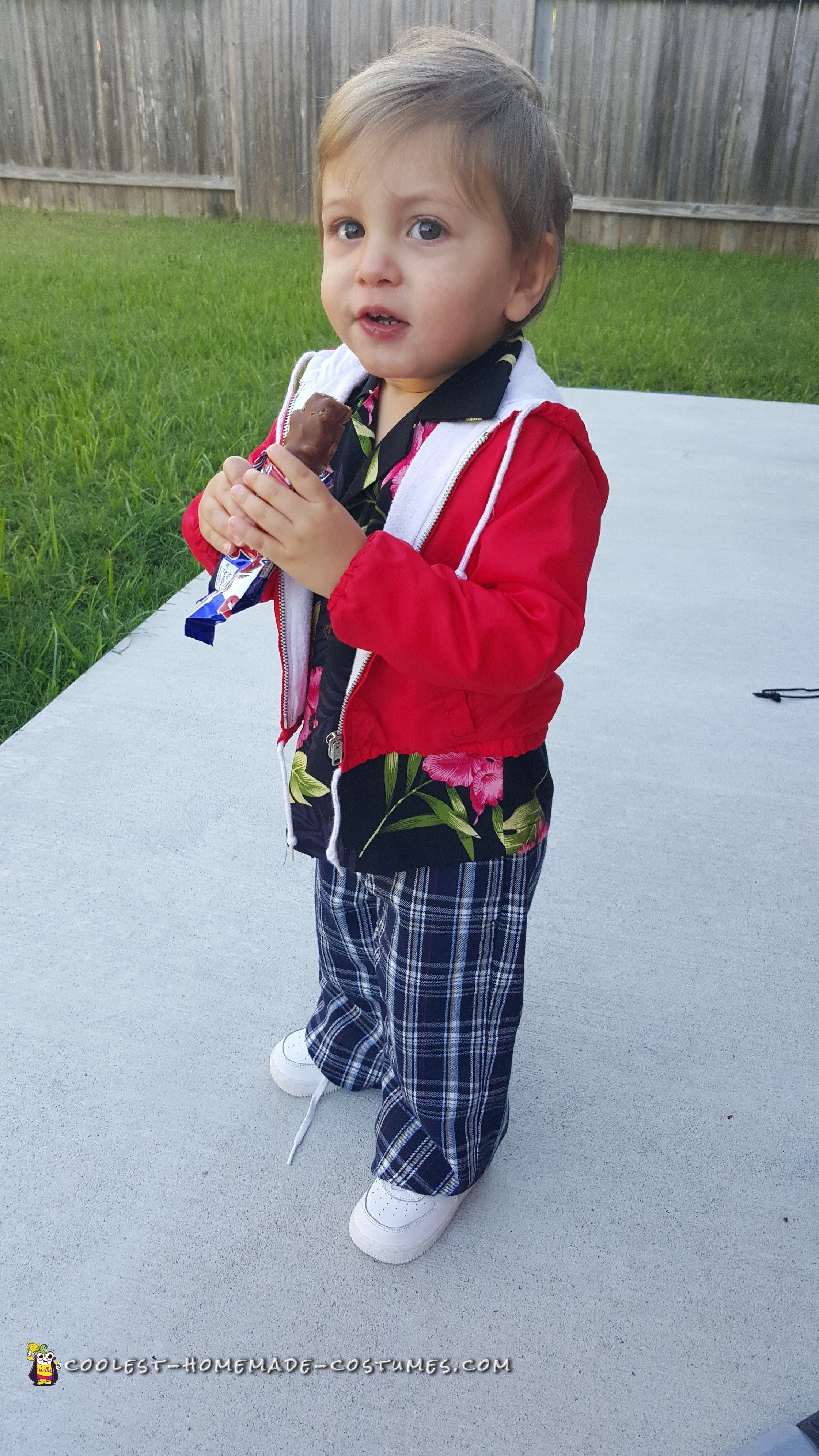 Toddler Chunk Costume from Goonies