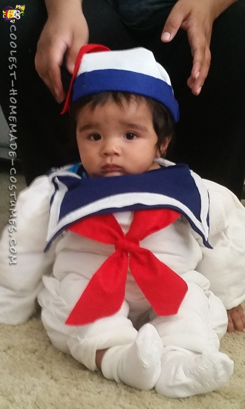 Cool Baby Stay Puft Marshmallow Man Costume