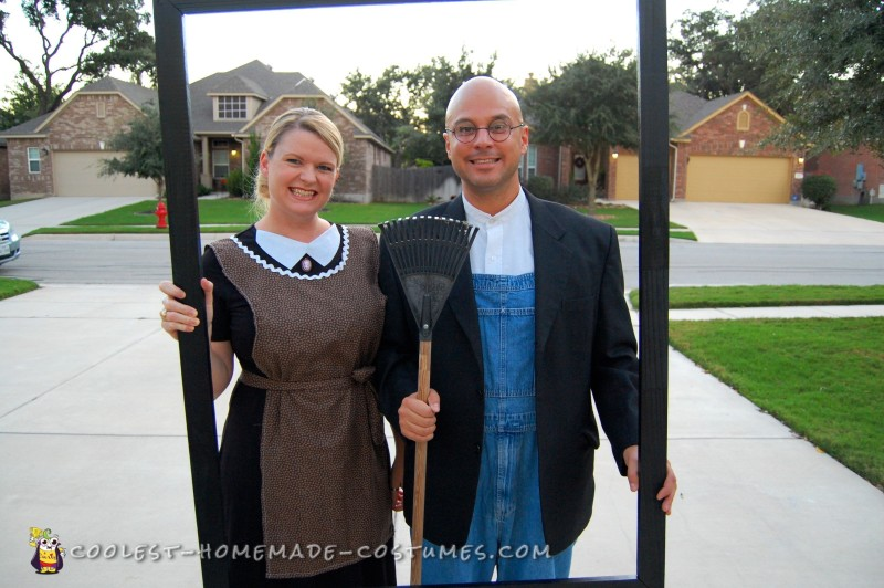 Cool American Gothic Couple Costume