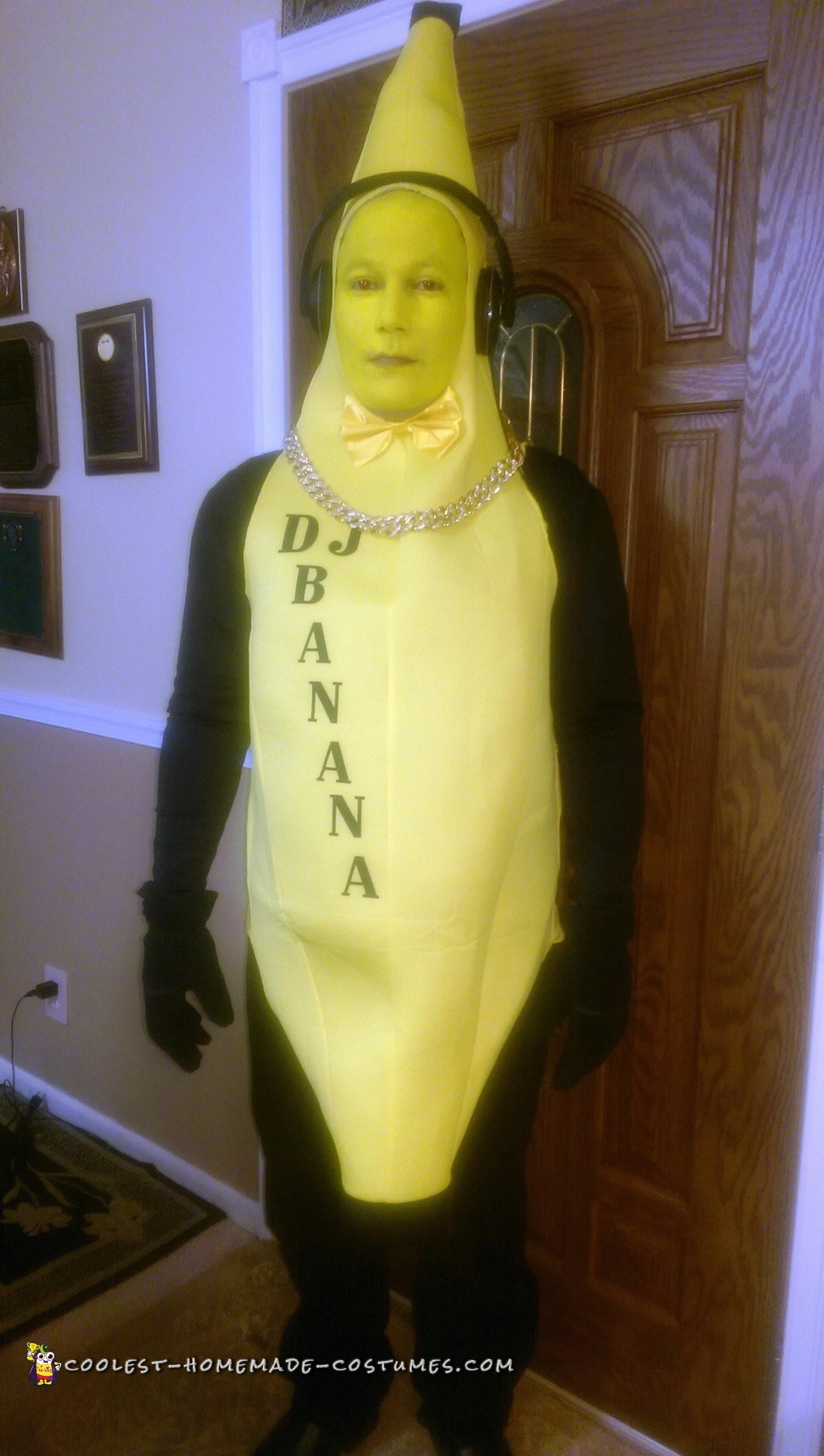 Funny DJ Banana Costume