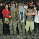 Cool Duck Dynasty Family Costume