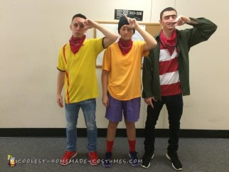 Funny Ed, Edd, and Eddy Group Costume