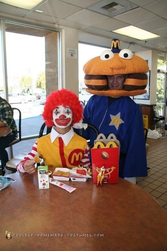 Amazing DIY Fast Food Group Costume