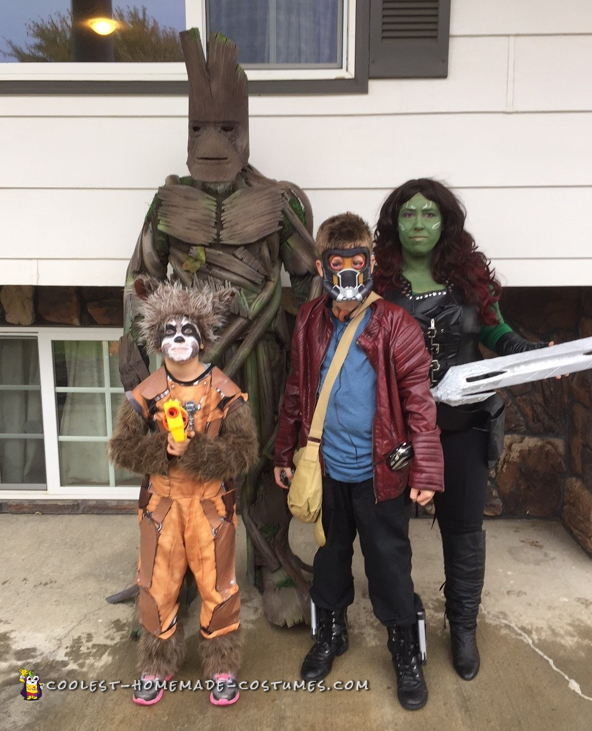 Coolest Guardians of the Galaxy Family Costume