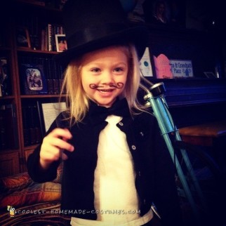 Last Minute Toddler DIY Magician Costume
