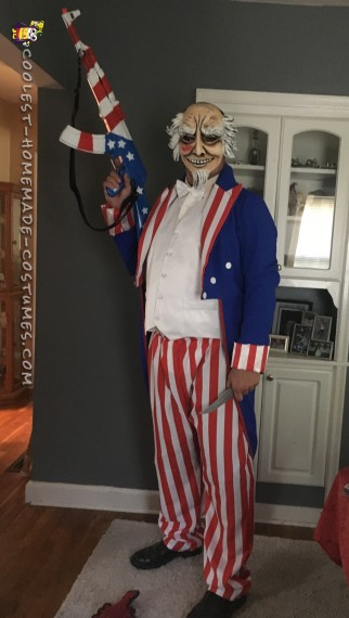Cool The Purge Election Year Homemade Costume