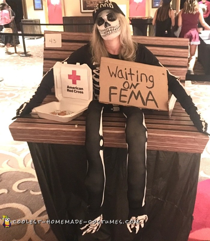 waiting on fema costume