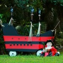Adorable Captain Hook Baby Costume and Pirate Ship