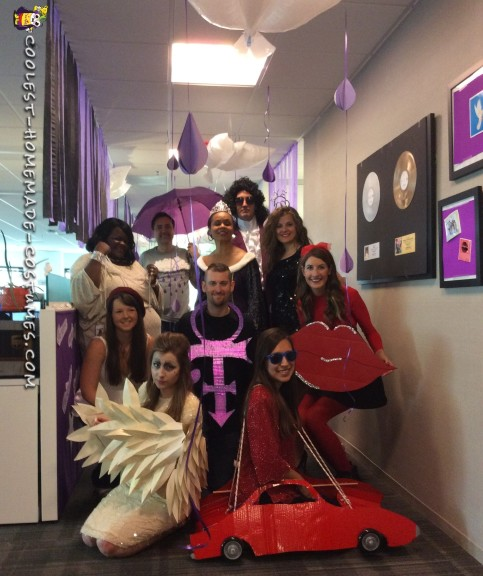 prince themed costumes