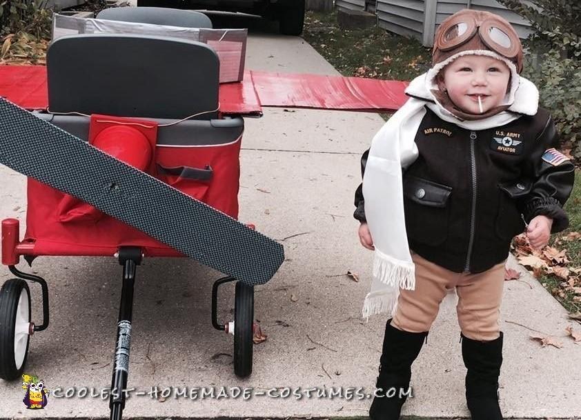 Toddler Amelia Earhart Costume