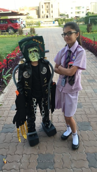Awesome Frankenstein Costume for a Boy