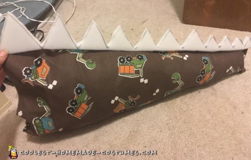 spinosaurus dinosaur costume