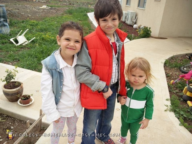 Cool Back To the Future Family Costumes - 1