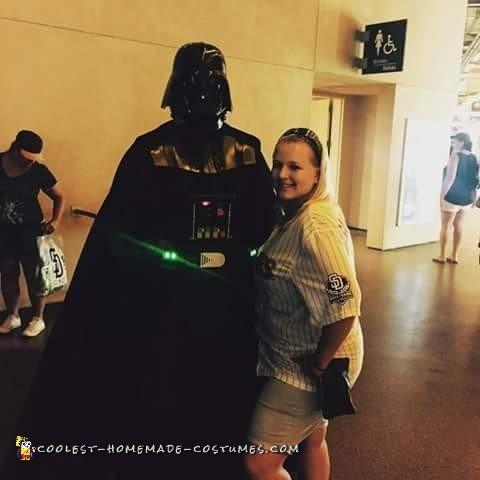 Coolest Darth Vader Unmasked Costume - 2