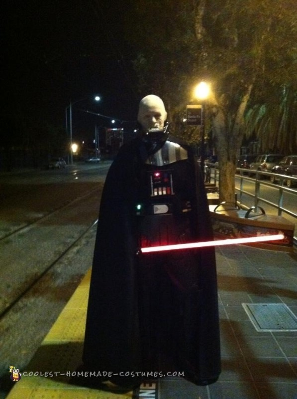 Coolest Darth Vader Unmasked Costume - 3