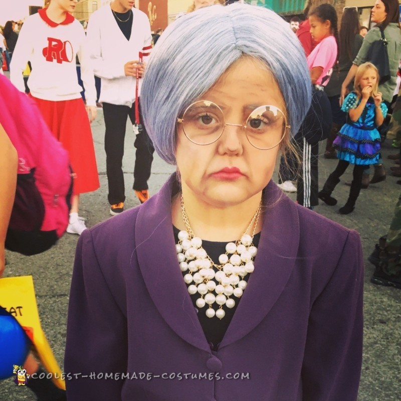 Cool Barbie and Old Granny Costumes