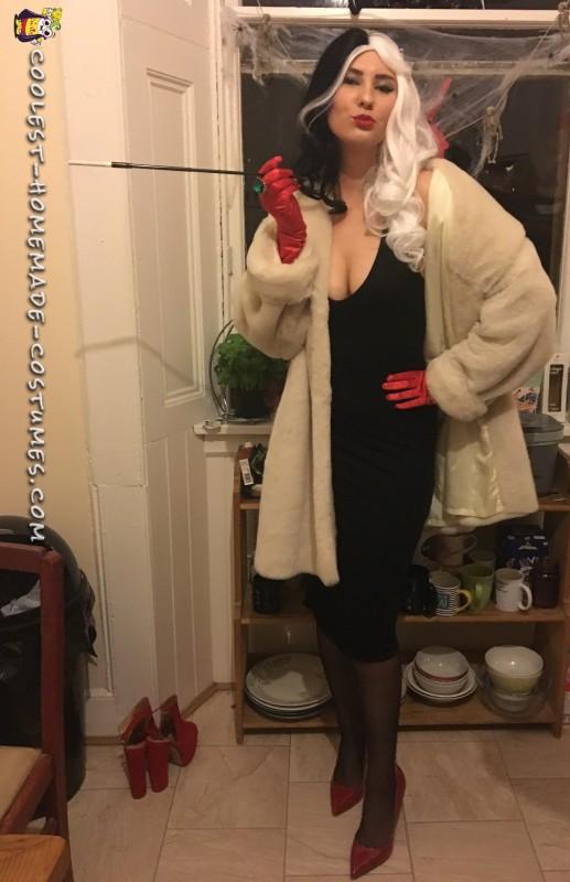 sexy cruella de vil costume