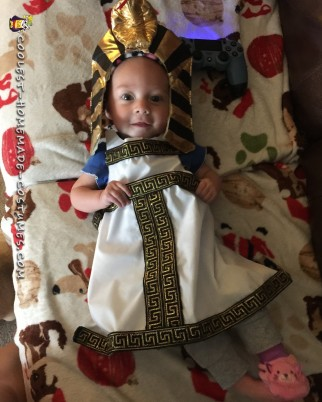 Coolest Egyptian Princess Baby