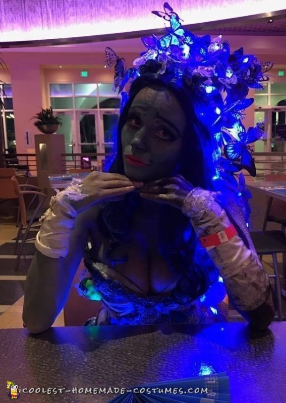 adult corpse bride costume