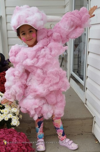 Cute Cotton Candy Costume