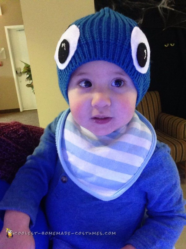 Adorable Toddler Octopus Costume