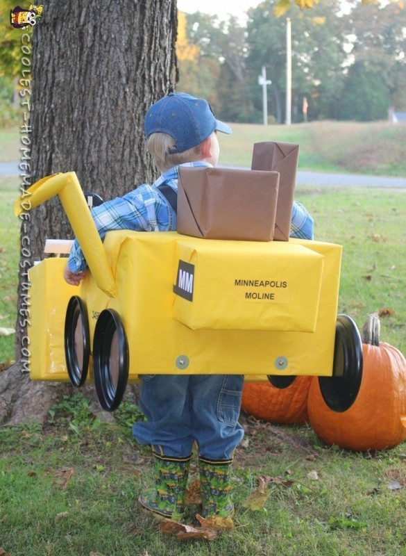 Cutest Combine Harvester Driver Costume
