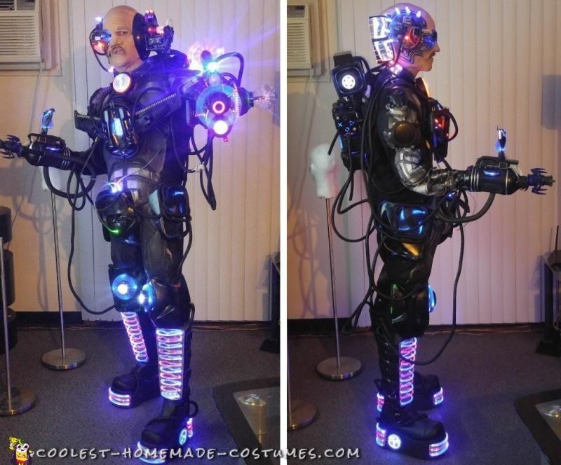cyborg costume