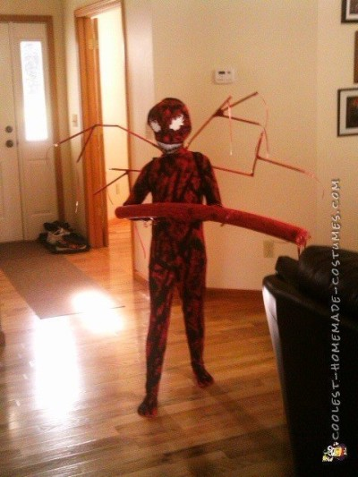 Cool DIY Carnage Kid Costume