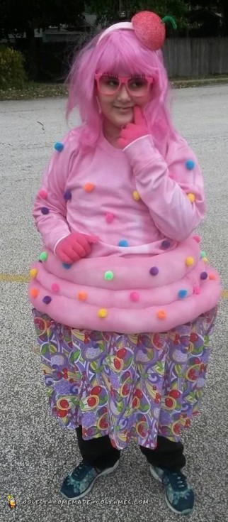 shopkins cupcake costume
